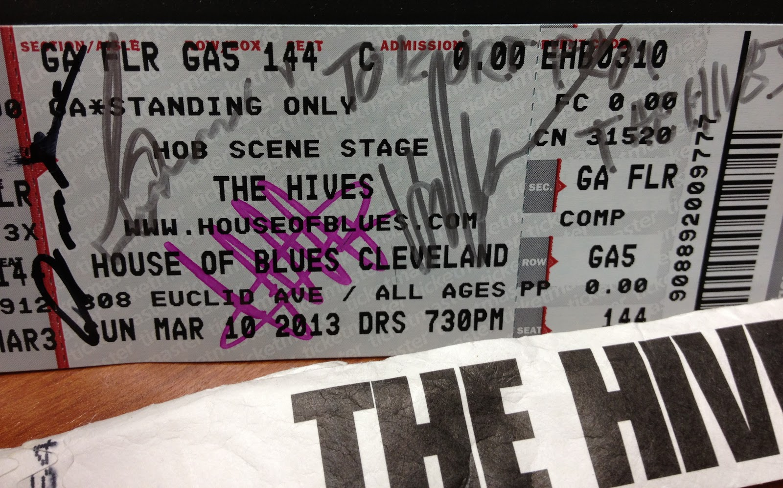 the hives rock cleveland hob - concert review | real life husband