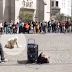 This street performer starts the beat, what happens next is extremely bone breaking