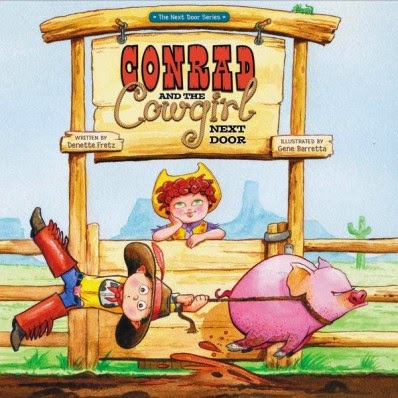 Conrad and the Cowgirl Next Door cover