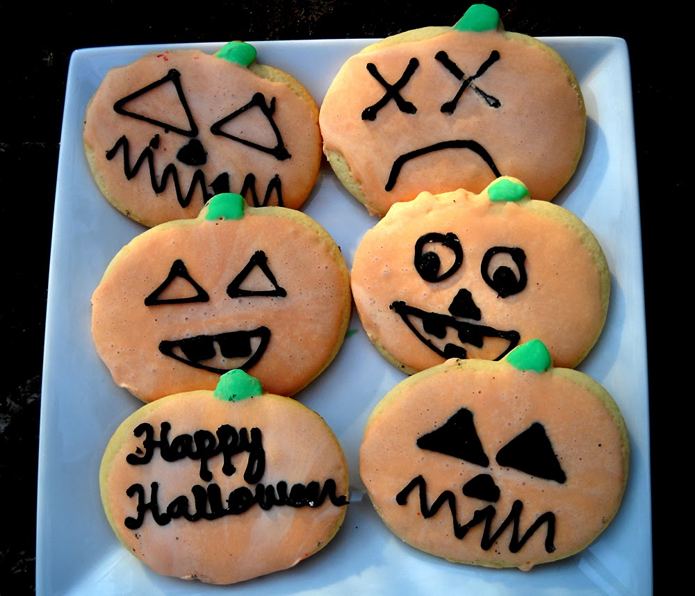 Emily S Sweet Indulgence Halloween Cut Out Sugar Cookies