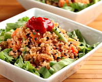 Salada de Quinua e Legumes (vegana)