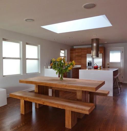 pilihan model meja makan minimalis dari kayu