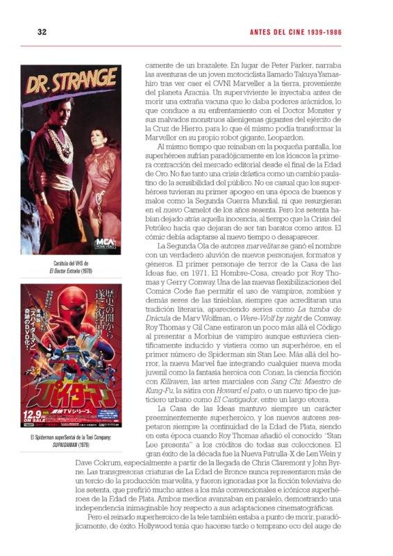 El viaje del Superheroe: La Historia secreta de Marvel en el cine [Reseña]