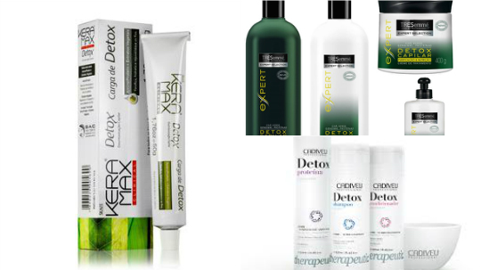 produtos detox cabelos finos