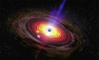 radiação de buraco negro