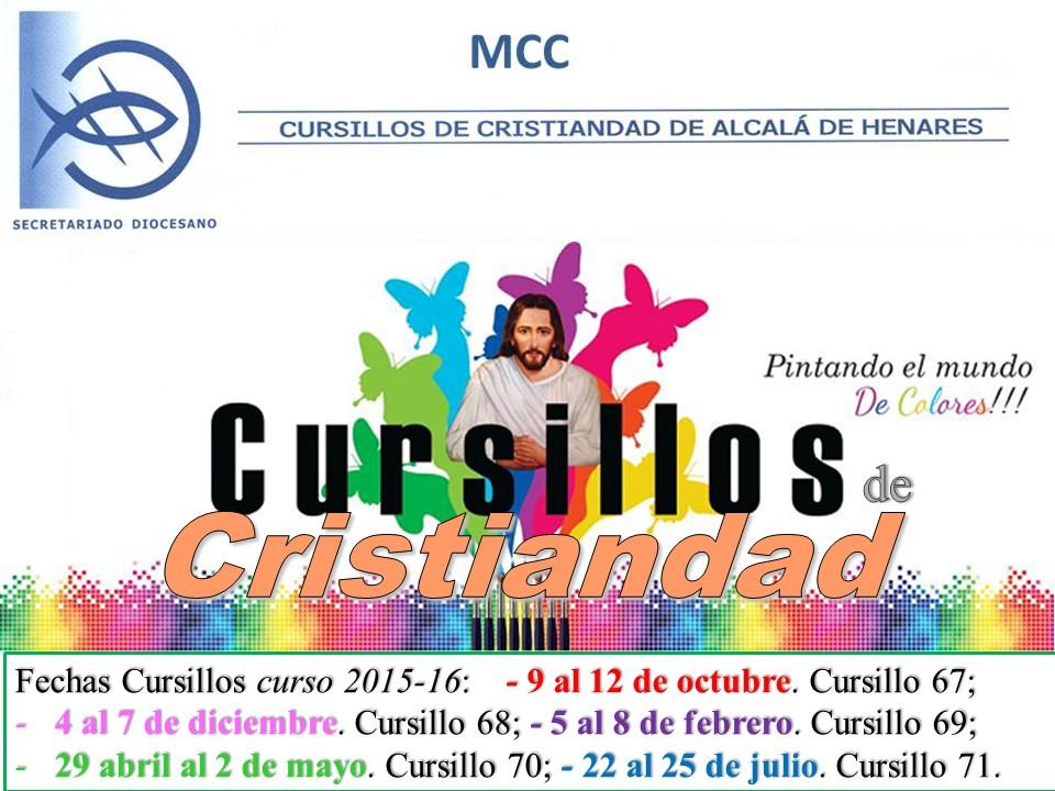 NUESTROS CURSILLOS 2015-16