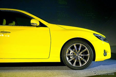 2015 Toyota Mark X new figure of inspiration Iron Man
