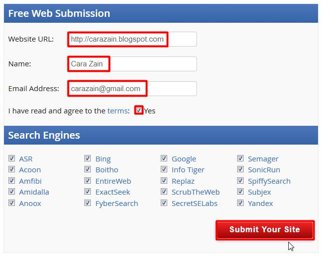 Cara Mudah Mendaftarkan Blog Ke Google Webmaster Tools