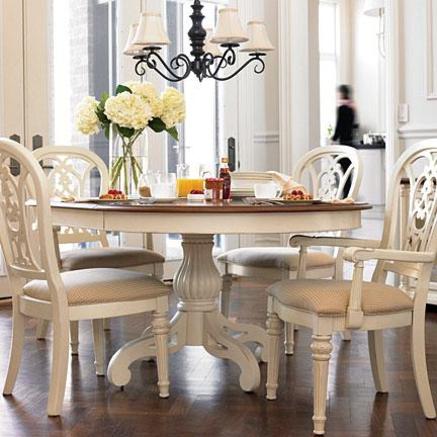 mesa redonda antiga pintura