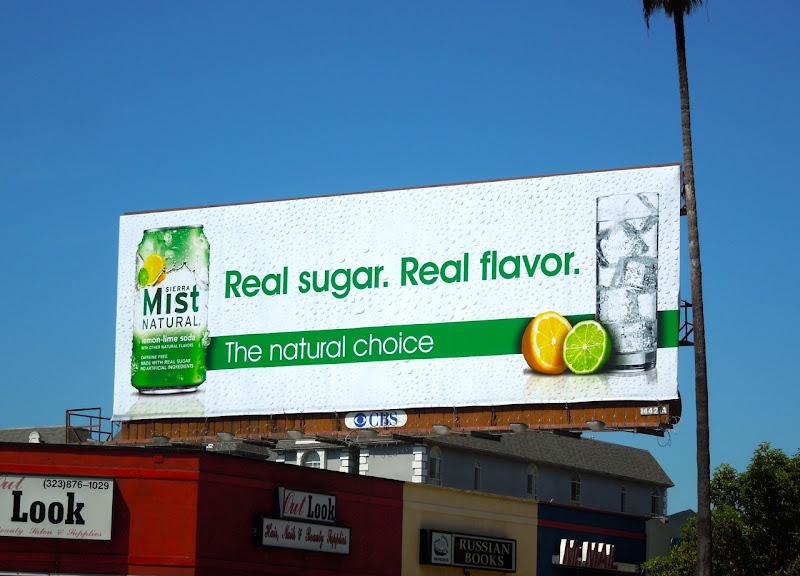 Sierra Mist Real Flavor billboard