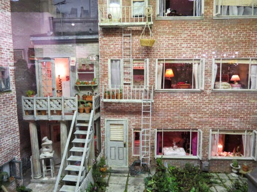 Philadelphia Flower Show 2015- Miniatures: Rear Window
