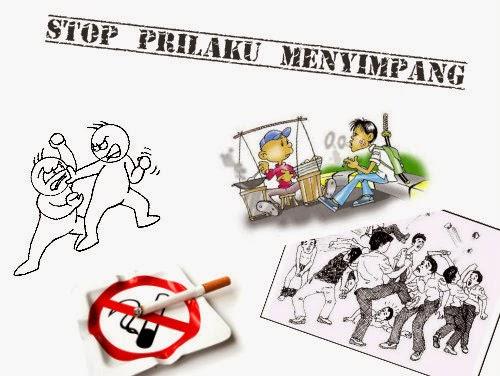 Stop Prilaku Menyimpang