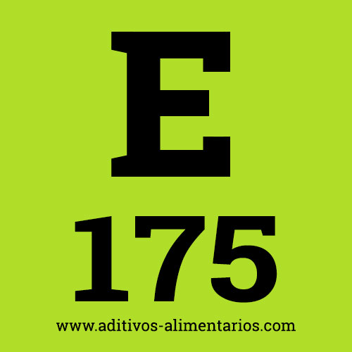 E175 - Colorante Oro