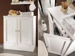 A and a un posto per la lavatrice for Mobile sopra lavatrice