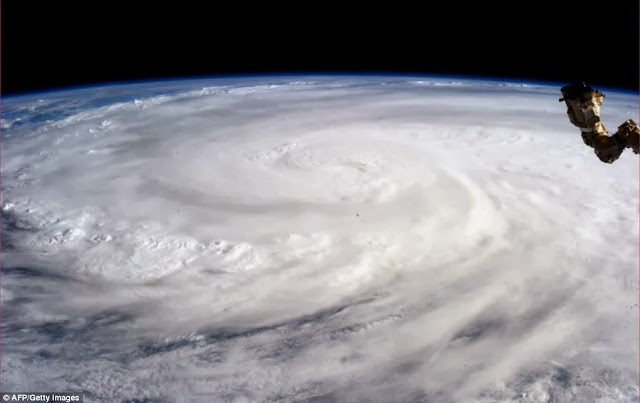 Microwave Pulse gives birth to Typhoon Haiyan