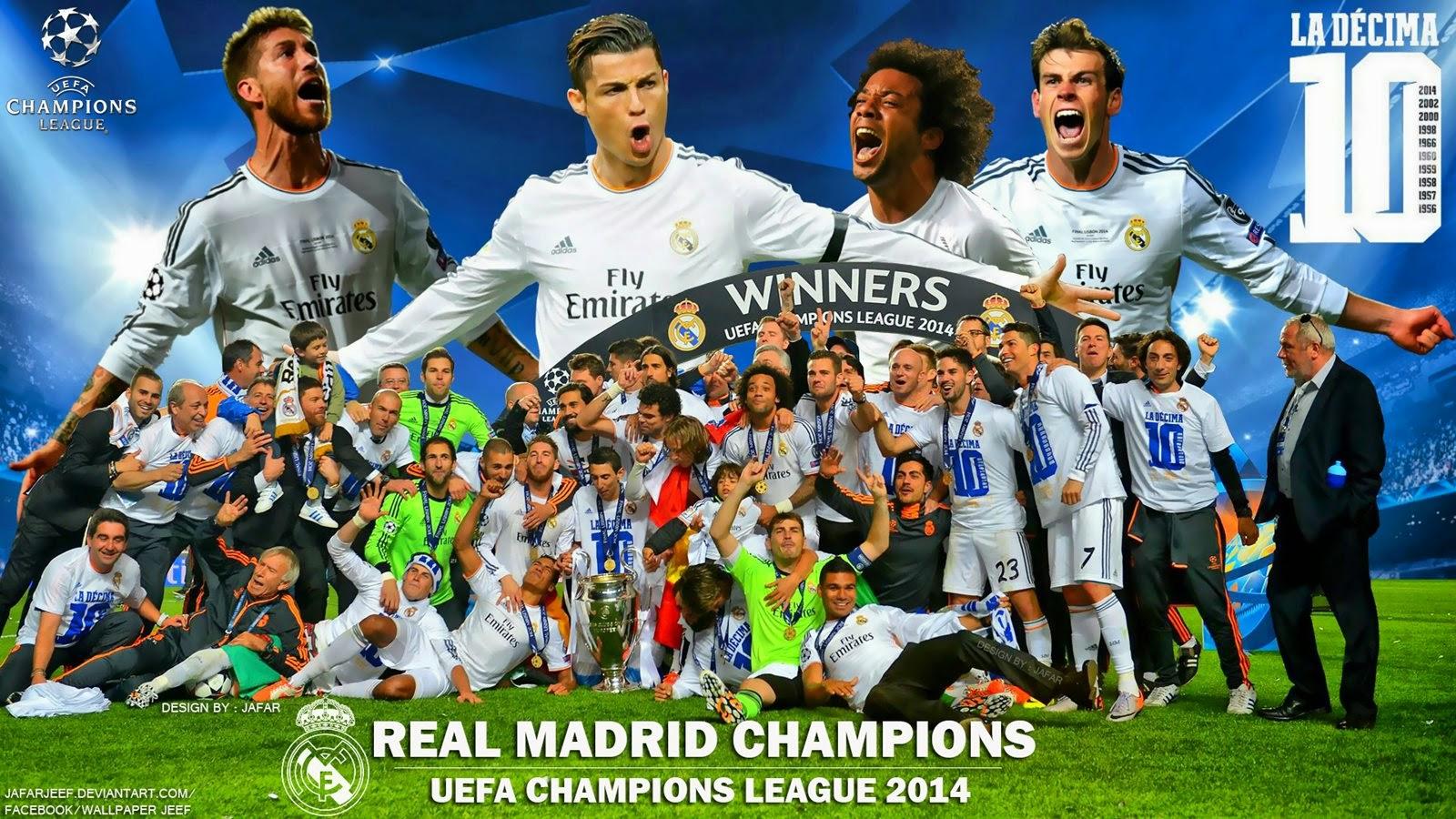 Real Madrid La Decima HD Wallpaper - Catatan Madridista