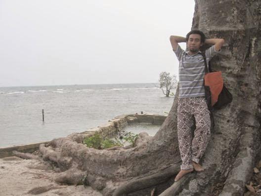 Pohon tua, Pulau Bidadari, Kepulauan Seribu