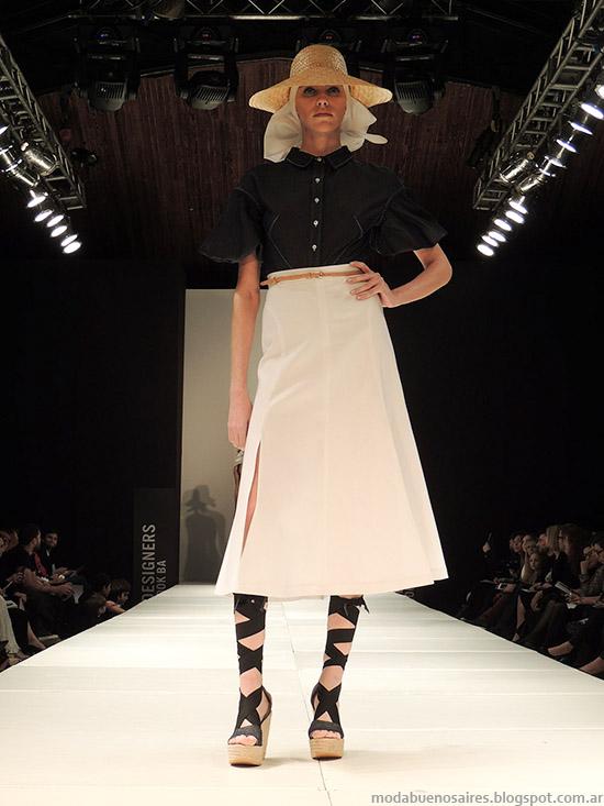 Pablo Ramírez primavera verano 2015 faldas de moda.