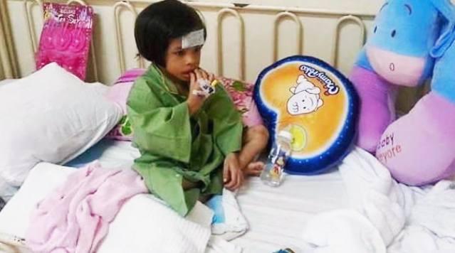 Kanak-kanak mangsa dera selamat jalani pembedahan betulkan usus