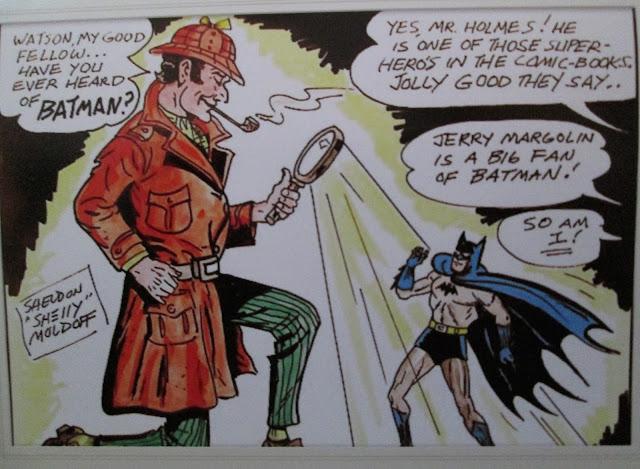 Batman and Sherlock Holmes - Moldoff