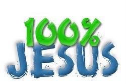 100% Jesus