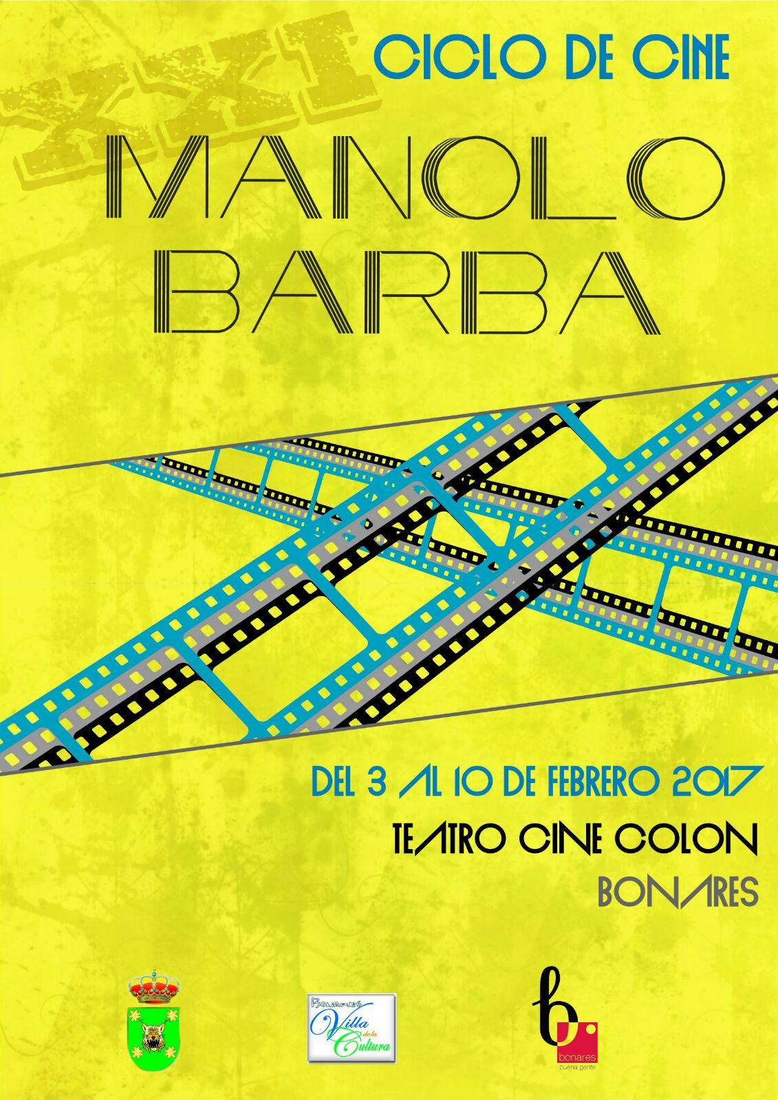 XXI CICLO DE CINE MANOLO BARBA