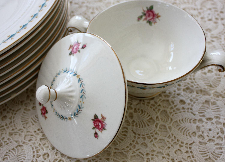 wild rose vintage rose dishes. Black Bedroom Furniture Sets. Home Design Ideas