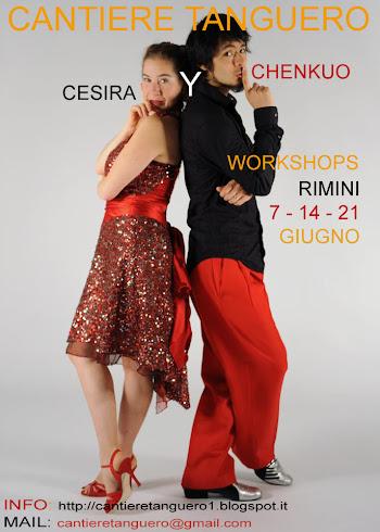 WORKSHOPS con CESIRA y CHENKUO
