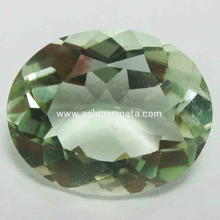 Batu Permata Green Prasiolite - 21B01