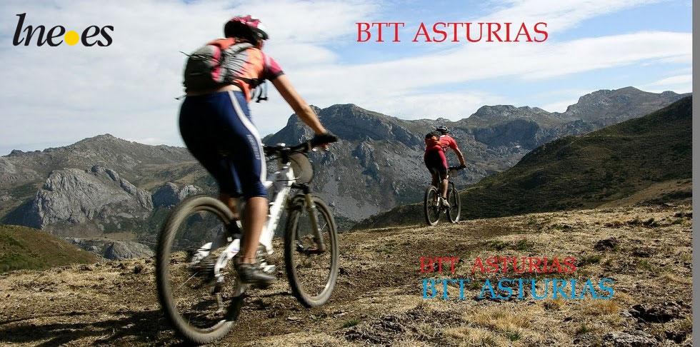 BTT EN ASTURIAS. Bicicleta de Montaña.