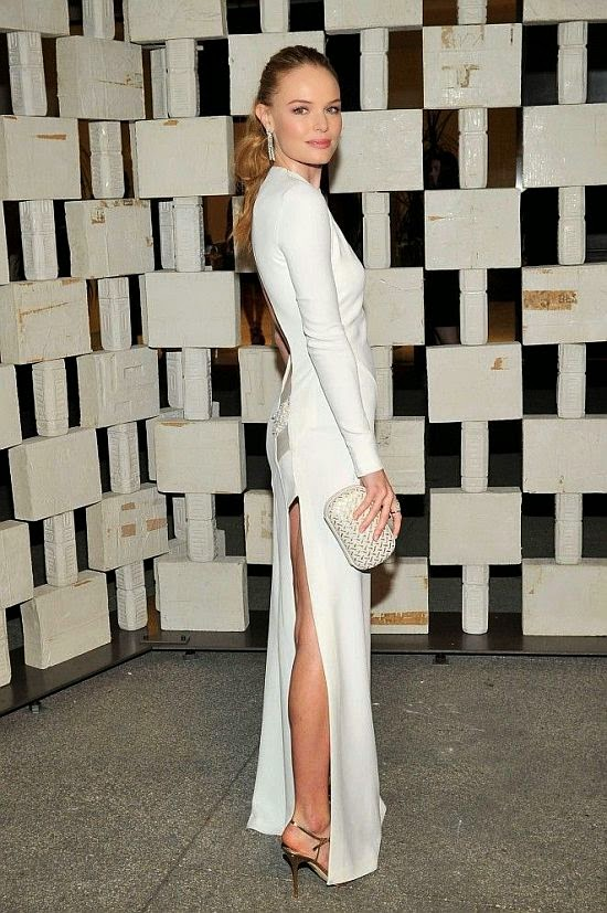 You know that phrase, dance like nobody's watching? Well, that's exactly what Kate Bosworth did for her appearance at the Hammer Museum's 12 the annual gala in West Hollywood, LA, USA on Saturday, October 11, 2014.