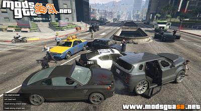V - Mod Missões de Carros Blindado para GTA V PC