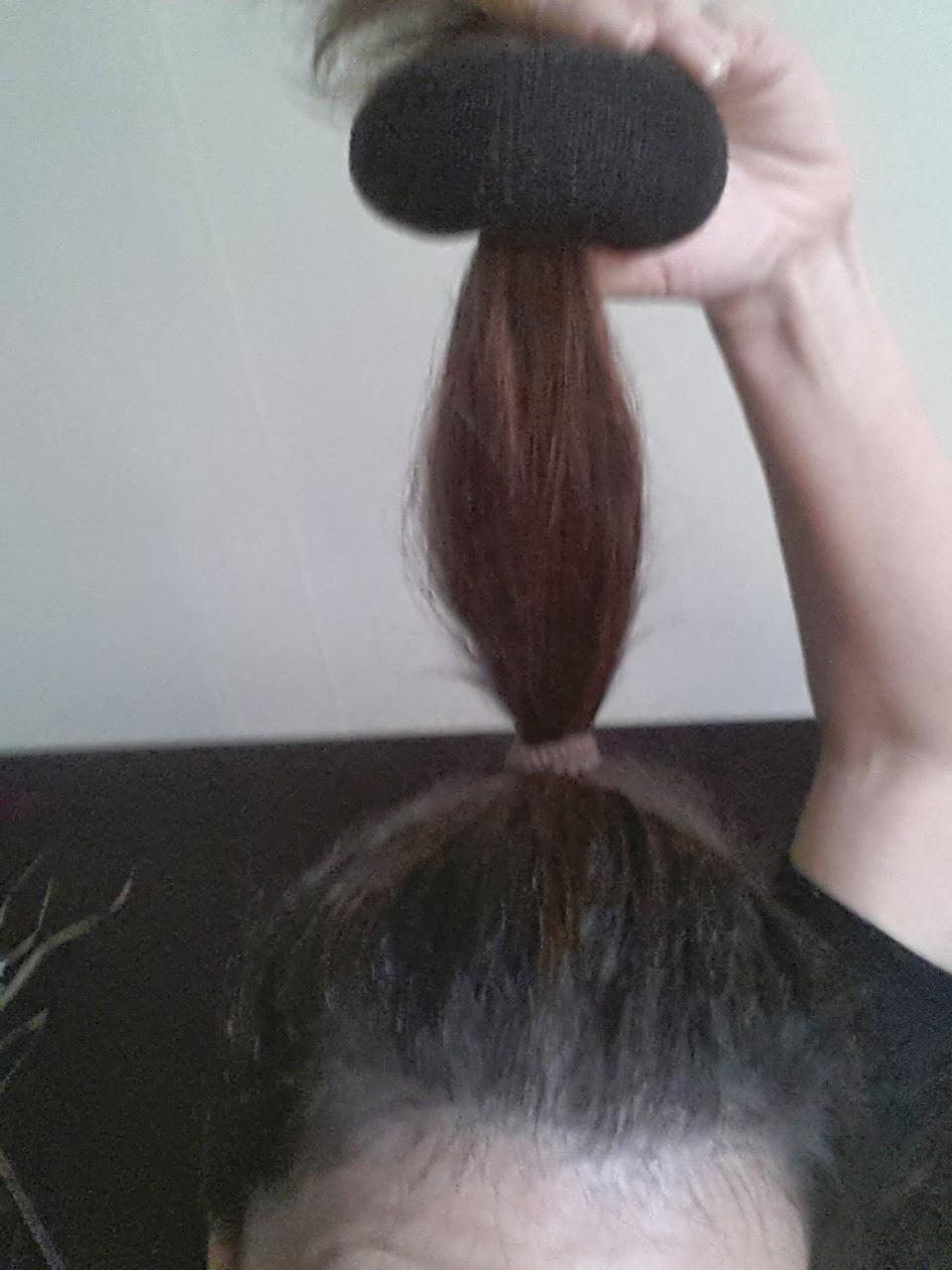 COIFFURE : Chignon Donut Cheveux courts et longs