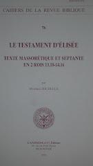 LE Testament d'Elisee