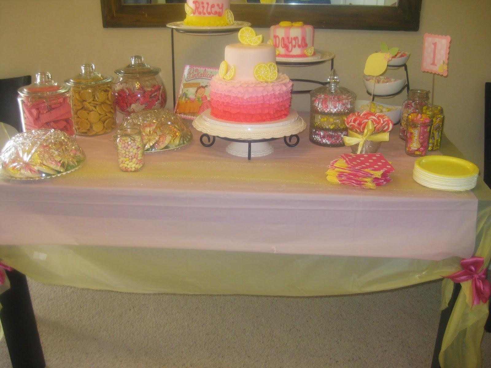 Berries Of Wisdom Pink Lemonade Birthday Party