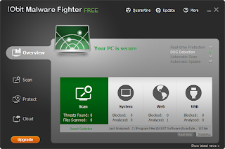 IObit Malware Fighter 2.0.0.8 Beta 1.0 software gratis free download full crack key serial number keygen