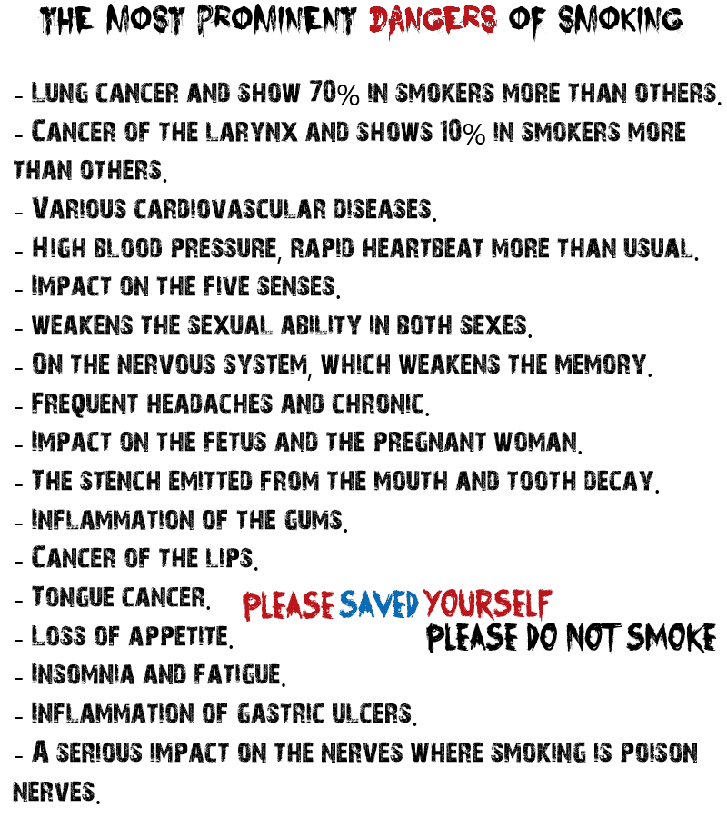 essay about danger of smoking For one of your addictions even though we know more about the dangers of smoking, it sill haunts society not only does smoking have many dangers.