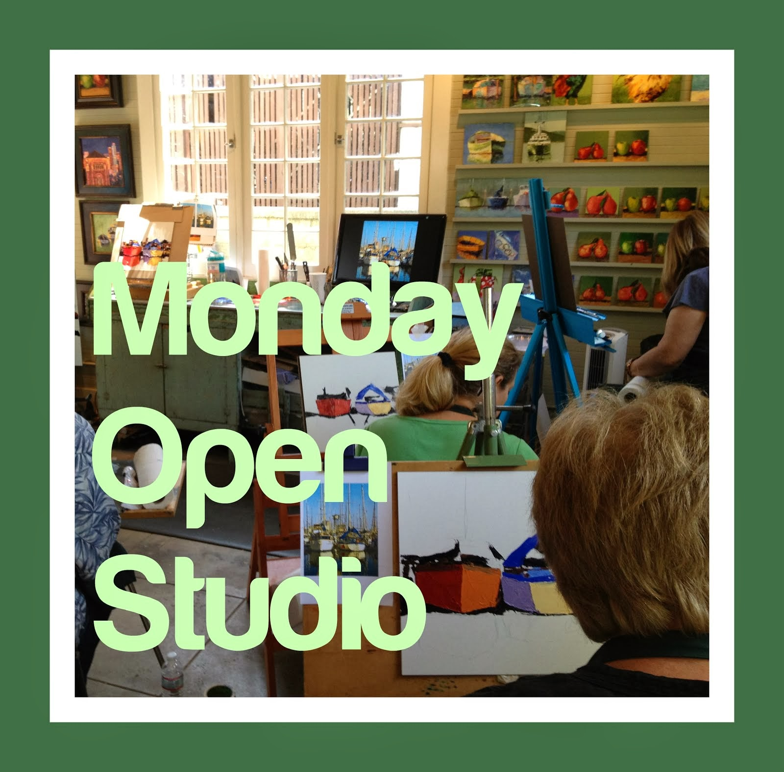 2014 - Monday Open Studio