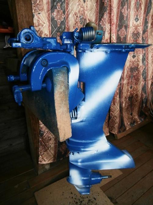 Как покрасить лодочный мотор своими руками