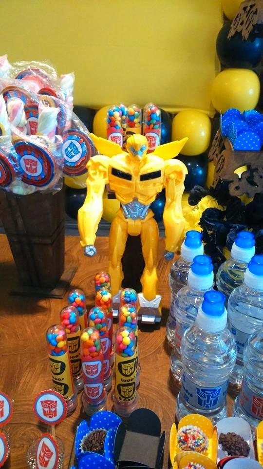 blogspotcom Decoração Provençal Festa Transformers