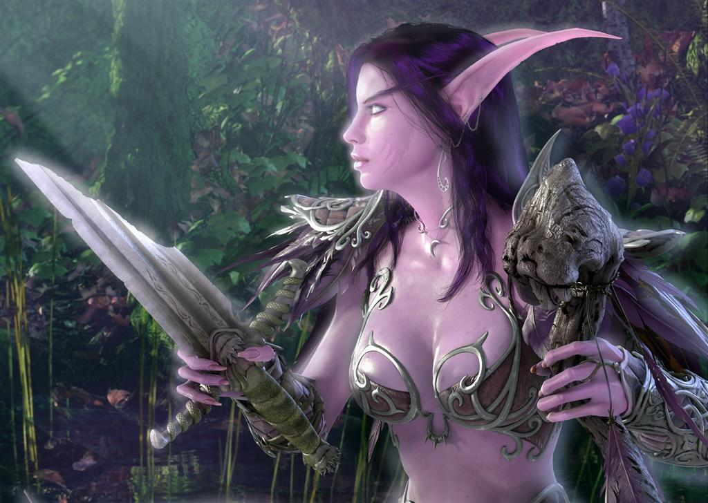 World of Warcraft HD & Widescreen Wallpaper 0.758915547798066