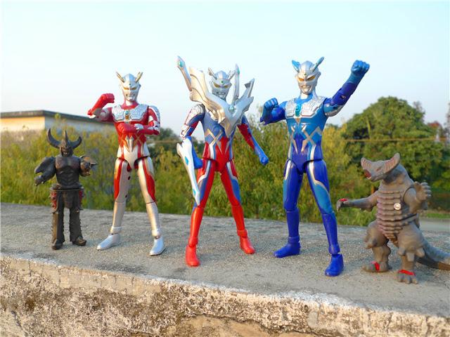 Ultraman Zero New Form Ultraman Zero Full Set...