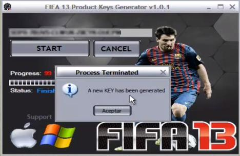 fifa 13 keygen free  pc full version