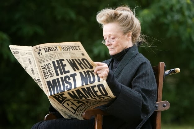 McGonagall reading