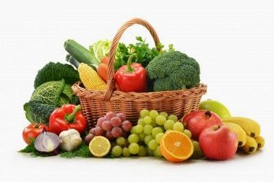 buah-buahan dan sayuran kaya dengan antioksidan
