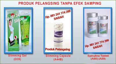 Obat Pelangsing Biolo - Spirulina Tablet - Slimming gel