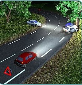 Baliser pour eviter tout sur accident le blog de - Comment attenuer le bruit d une route ...