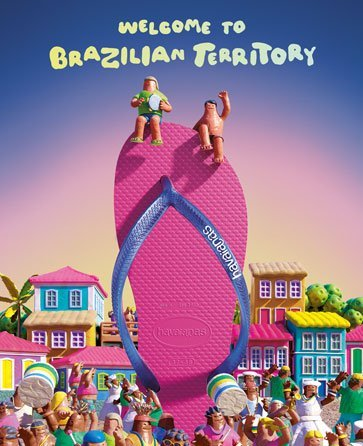 Havaianas embodies the fun, vibrant and spontaneous way of Brazilian life.