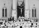 Missa campal nos anos 1960
