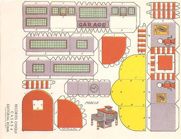 Imajenes de casas armables para imprimir imagui for Cocinas integrales armables